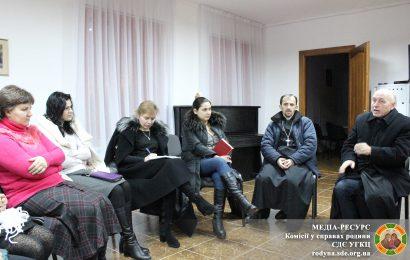 Зустріч ректора Дрогобицької Духовної Семінарії із дружинами священиків